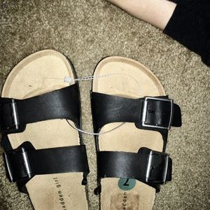 Madden Girl two strap sandals